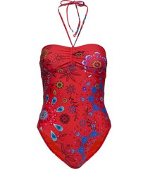 biki creta badpak badkleding rood desigual