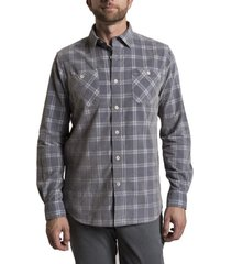 camisa cord tartan gris rockford