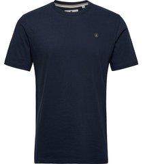 akrod t-shirt t-shirts short-sleeved blå anerkjendt