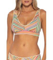 women's becca kasbah bikini top