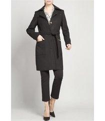 abrigo mujer muflon negro rock liola