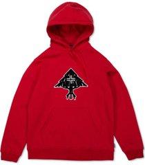 lrg men's all tree regular-fit fleece logo hoodie
