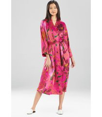 natori nomad long sleep & lounge bath wrap robe, women's, size m