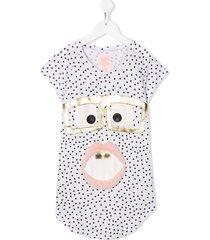 wauw capow by bangbang cheeky shades dress - white