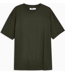 mens khaki oversized t-shirt