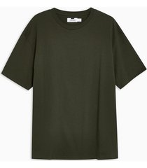 mens khaki oversized t-shirt