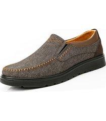 scarpe casual da uomo in tessuto stile old peking di grandi dimensioni