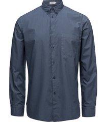 m. peter washed poplin shirt skjorta business blå filippa k