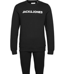 jaclounge set pyjamas svart jack & j s