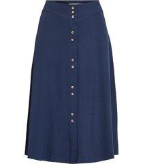kjol vimorose hw button midi skirt