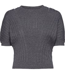 dafne t-shirts & tops knitted t-shirts/tops grå max&co.
