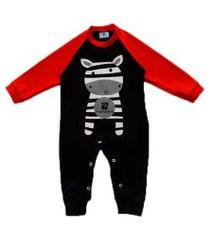 macacáo manabana roupas de bebe enxoval batizado  preto