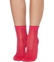 calzedonia - glittery socks, one size, pink, women