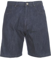aspesi bermuda shorts peneces w/coulisse chambray