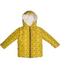 chaqueta acolchada amarillo poussin jackets jirafas