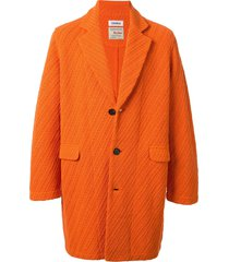 coohem spring twill coat - orange