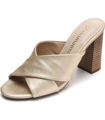 sandalia dorado via marte