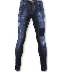 basic jeans - spijkerbroek washed - d2432