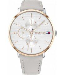 reloj tommy hilfiger 1781946 gris -superbrands