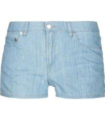 lacoste denim shorts