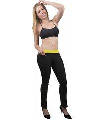 leggings reductor con neopreno efecto control abdomen y levantacola
