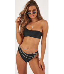 showpo jasmine bikini bottom in black - 8 (s) bikini sets