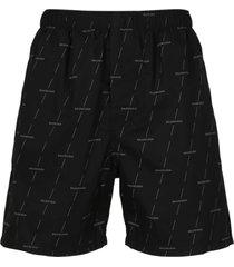 balenciaga piping shorts