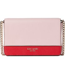 spencer leather crossbody wallet