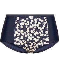 english garden, maxibrief bikinitrosa blå abecita