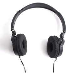 audifonos diadema negra color negro, talla uni