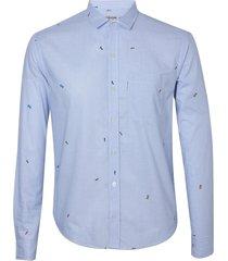 camisa john john micro cars algodão estampado masculina (estampado, gg)