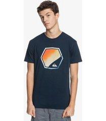 t-shirt korte mouw quiksilver camiseta manga corta hombre eqyzt06320