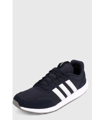 tenis running azul-blanco adidas performance retrorun,