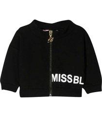miss blumarine black sweatshirt