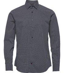 geo dot prt reg shirt skjorta casual blå tommy hilfiger tailored