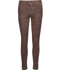 catwoman brown snake skinny jeans brun please jeans