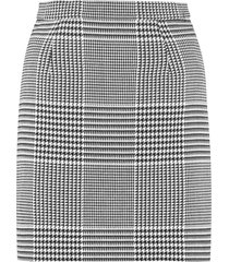 off-white prince-of-wales checked mini skirt