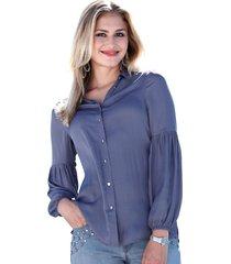 blouse amy vermont zilverkleur