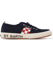 mens blue superga® sneakers - superga® meets mc2 saint barth