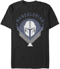 fifth sun star wars the mandalorian warrior emblem short sleeve men's t-shirt