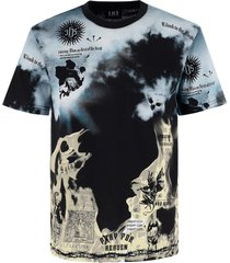 in hoc signo vinces clouds flames t-shirt