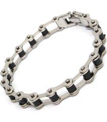braccialetto della catena del motociclo punk 316l braccialetto degli uomini della catena del motociclo dell'acciaio inossidabile