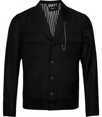 blouson dun jack zwart the kooples