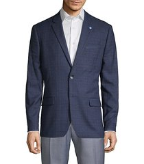 tonal plaid sport coat