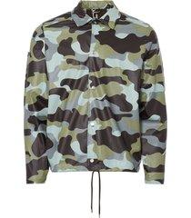rains sea camo coach jacket 1217