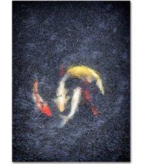 """joe felzman photography 'koa with rain' canvas art - 32"""" x 24"""" x 2"""""""