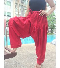 thai harem trousers boho festival hippy yoga pants