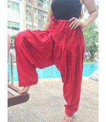 thai harem trousers boho festival hippy yoga pants