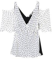 mcq alexander mcqueen blouses