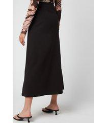 our legacy women's trap skirt - black - fr 40/uk 12